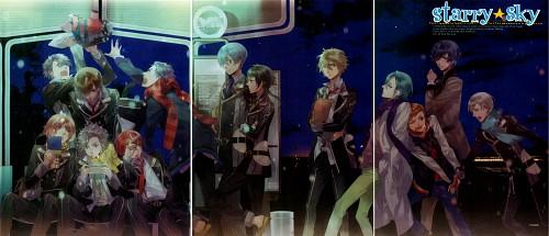 Kazuaki, Starry Sky, Azusa Kinose, Naoshi Haruki, Suzuya Tohzuki