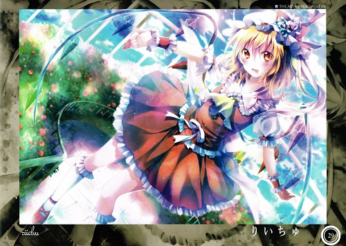 Riichu, Touhou Project Tribute Arts - Fragment 1, Touhou, Flandre Scarlet