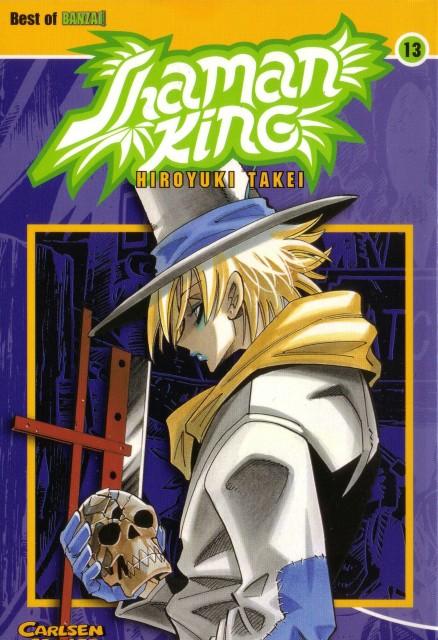 Hiroyuki Takei, Xebec, Shaman King, Faust VIII, Manga Cover