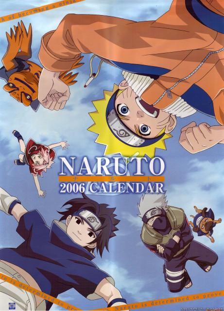 Studio Pierrot, Naruto, Gamakichi, Sasuke Uchiha, Sakura Haruno