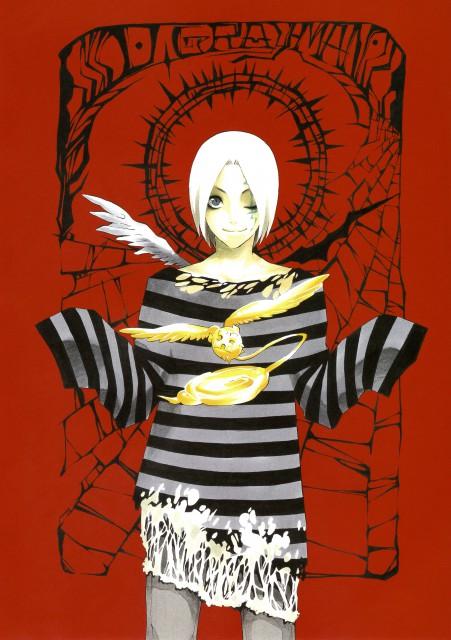 Katsura Hoshino, D Gray-Man, Noche - D.Gray-man Illustrations, Timcanpy, Allen Walker