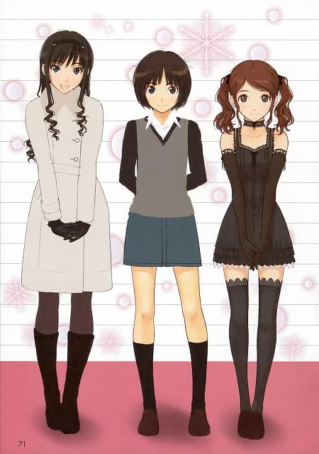 Kisai Takayama, Anime International Company, Amagami, Sae Nakata, Haruka Morishima
