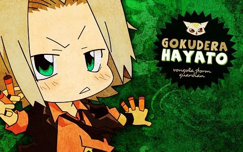 Akira Amano, Katekyo Hitman Reborn!, Uri, Hayato Gokudera Wallpaper