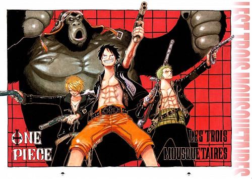 Eiichiro Oda, Toei Animation, One Piece, Color Walk 5 - Shark, Sanji