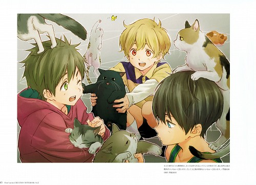 Miku Kadowaki, Kyoto Animation, Free!, Nagisa Hazuki, Makoto Tachibana