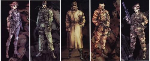 Konami, Metal Gear Solid, Solid Snake, Meryl Silverburgh