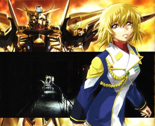 RGB, Mobile Suit Gundam SEED Destiny, Cagalli Yula Athha