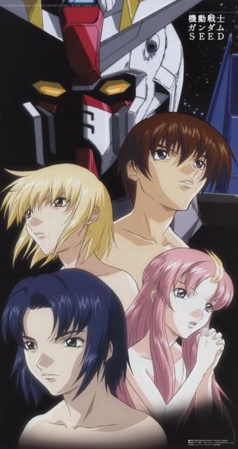 Sunrise (Studio), Mobile Suit Gundam SEED, Cagalli Yula Athha, Lacus Clyne, Athrun Zala