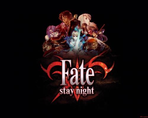 TYPE-MOON, Fate/stay night, Rin Tohsaka, Saber Wallpaper