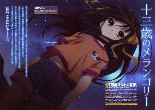 Futoshi Nishiya, Kyoto Animation, The Melancholy of Suzumiya Haruhi, Haruhi Suzumiya