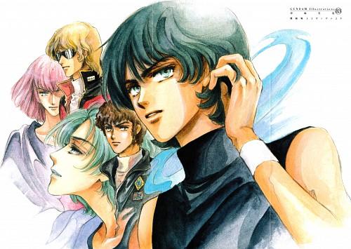 Mamiya Oki, Sunrise (Studio), Mobile Suit Zeta Gundam, Mobile Suit Gundam - Universal Century, Amuro Ray