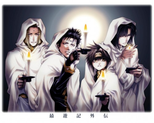Kazuya Minekura, Saiyuki Gaiden, Kenren Taishou, Konzen Douji, Son Goku (Saiyuki)