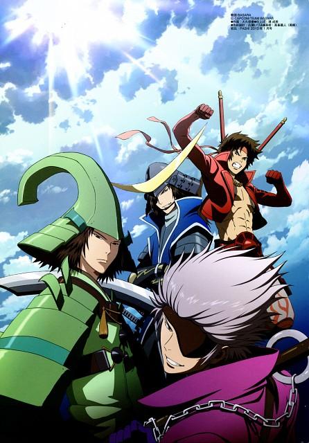 Makoto Tsuchibayashi, Production I.G, Capcom, Sengoku Basara, Motochika Chosokabe (Sengoku Basara)