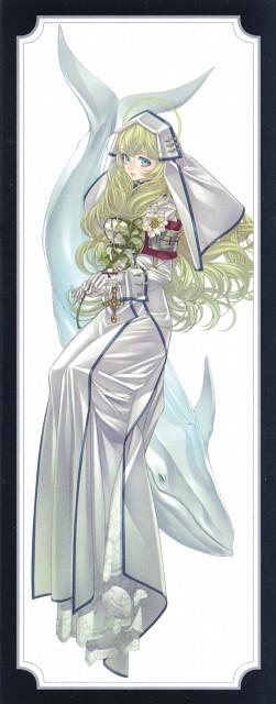 Shibamoto Thores, Trinity Blood, Manga Cover