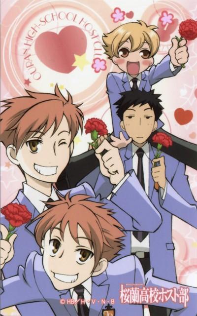 Hatori Bisco, BONES, Ouran High School Host Club, Takashi Morinozuka, Hikaru Hitachiin