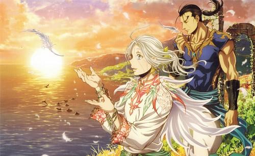 Hiromu Arakawa, SANZIGEN, Heroic Legend of Arslan (Hiromu Arakawa), Daryun, Arslan (Hiromu Arakawa)