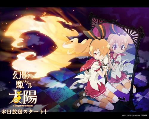 Aniplex, Genei wo Kakeru Taiyou, Akari Taiyou, Official Wallpaper