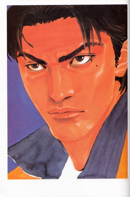 Takehiko Inoue, Slam Dunk, Inoue Takehiko Illustrations, Shin'ichi Maki