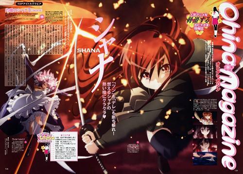 Shinya Hasegawa, Shakugan no Shana, Shana, Wilhelmina Carmel, Animedia