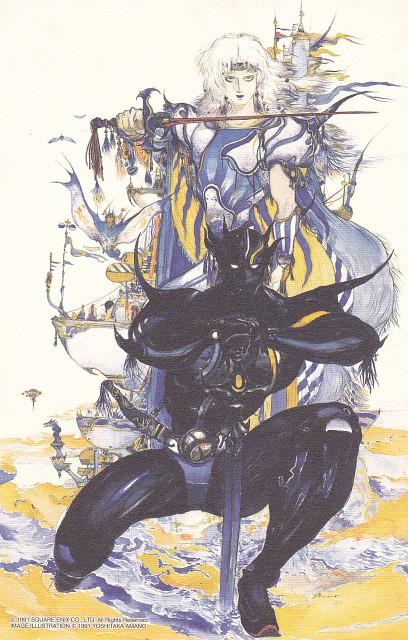 Yoshitaka Amano, Square Enix, Final Fantasy Dissidia, Final Fantasy IV, Golbez