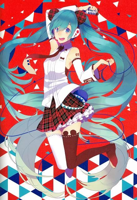 Saine, Illustration 2017, Vocaloid, Miku Hatsune, Pixiv