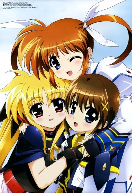 Seven Arcs, Mahou Shoujo Lyrical Nanoha, Hayate Yagami, Fate Testarossa, Nanoha Takamachi