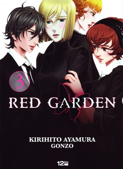Kirihito Ayamura, Gonzo, Red Garden, Rachel Benning, Rose Sheedy