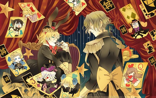 Jun Mochizuki, Xebec, Pandora Hearts, Gilbert Nightray, Liam Lunettes Wallpaper