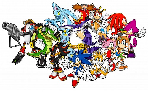 Sega, Sonic the Hedgehog, Vector the Crocodile, Espio the Chameleon, Sonic