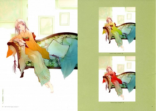 Miho Takeoka, Production I.G, Bungaku Shoujo, Bungaku Shoujo Fantasy Art Book, Tooko Amano