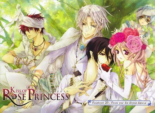 Aya Shouoto, Kiss of Rose Princess, Anise Yamamoto, Seiran Asagi, Mitsuru Tenjoh