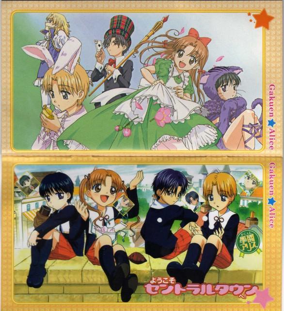 Tachibana Higuchi, Group TAC, Gakuen Alice, Hotaru Imai, Narumi L. Anju
