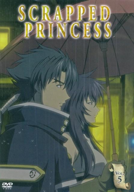 BONES, Scrapped Princess, Suin, Shannon Casull, DVD Cover