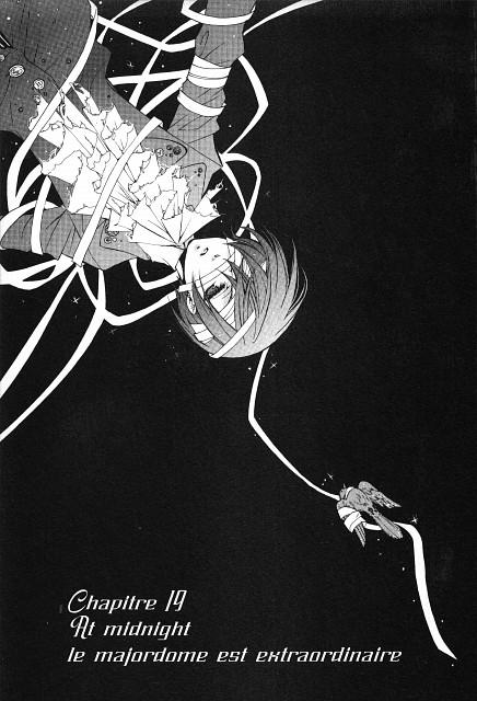Yana Toboso, Kuroshitsuji, Ciel Phantomhive, Chapter Cover