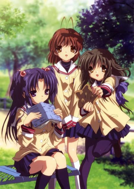 Kyoto Animation, Clannad, Fuko Ibuki, Nagisa Furukawa, Kotomi Ichinose