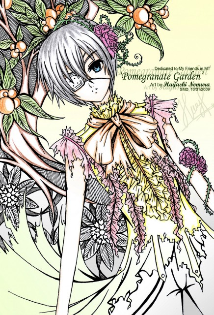 Yana Toboso, Kuroshitsuji, Ciel Phantomhive, Member Art