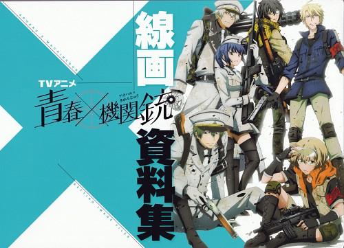 NAOE, Brains Base, Aoharu x Kikanjuu, Ichi Akabane, Matsuoka Masamune