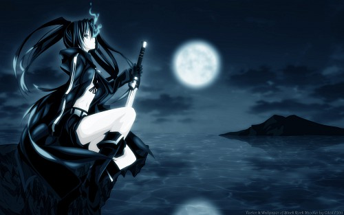 Shino (Eefy), Black Rock Shooter, Black Rock Shooter (Character) Wallpaper