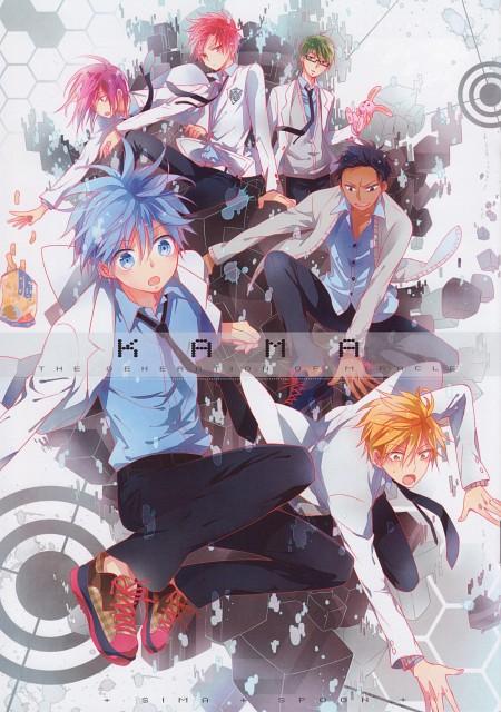 enick, Kuroko no Basket, Kama - The Generation of Miracle, Ryouta Kise, Tetsuya Kuroko