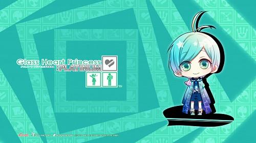 Yuki Kinami, Idea Factory, Glass Heart Princess, Konata Hoshino, Official Wallpaper