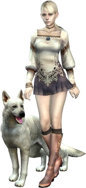 Capcom, Haunting Ground, Hewie, Fiona Belli