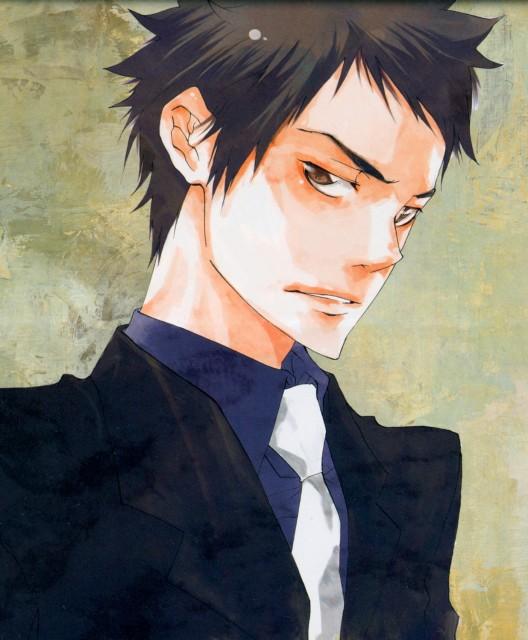 Akira Amano, Katekyo Hitman Reborn!, Katekyo Hitman Reborn! Character Book: Vongola 77, Takeshi Yamamoto