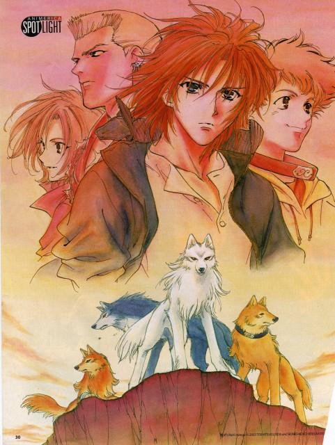 BONES, Wolf's Rain, Kiba (Wolf's Rain), Tsume, Toboe
