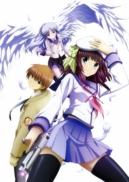 Key (Studio), Angel Beats!, Angel Beats! Official Guide Book, Yuri Nakamura , Yuzuru Otonashi