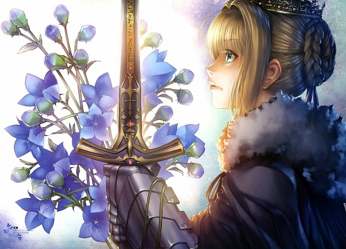 Rei Hiroe, Fate/flower shower, Fate/stay night, Saber