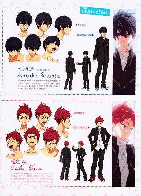 Futoshi Nishiya, Kyoto Animation, Free!, Asahi Shiina, Haruka Nanase (Free!)