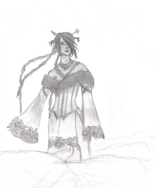 Square Enix, Final Fantasy X, Lulu, Member Art