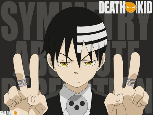 Atsushi Okubo, BONES, Soul Eater, Death The Kid Wallpaper