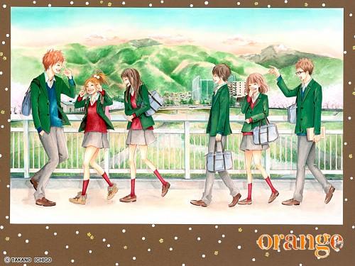 Ichigo Takano, Orange (Series), Azusa Murasaka, Hiroto Suwa, Kakeru Naruse