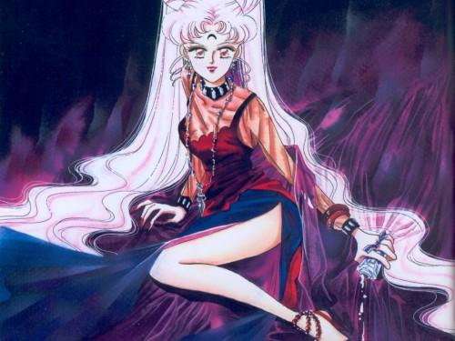 Naoko Takeuchi, Bishoujo Senshi Sailor Moon, BSSM Original Picture Collection Vol. II, Black Lady Wallpaper